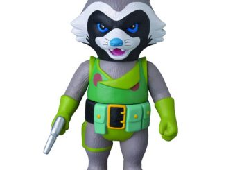 Guardians of the Galaxy Rocket Raccoon Marvel Hero Sofubi Vinyl Figure