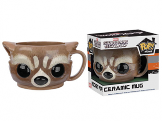 Guardians of the Galaxy Rocket Raccoon Pop! Home 12 oz. Mug