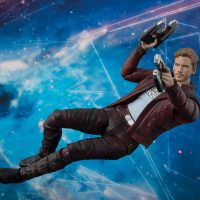 Guardians of the Galaxy Vol. 2 Star-Lord with Explosion SH Figuarts Action Figure