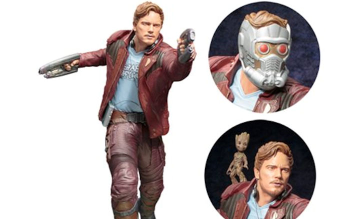 Guardians of the Galaxy Vol. 2 Star-Lord with Groot ArtFX ...