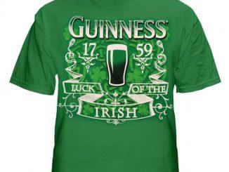 Guinness Beer Luck of the Irish T-Shirt