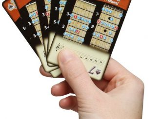 Guitar Scales Playing Cards