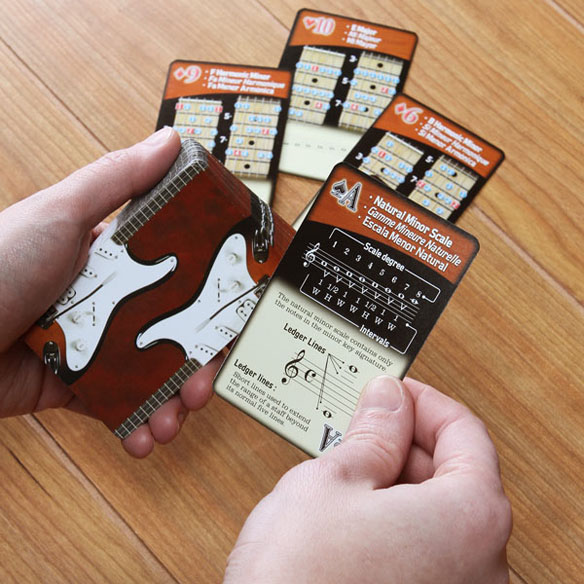 Guitar Scales Playing Cards Set