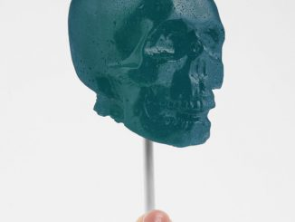 Gummy Skull On A Stick