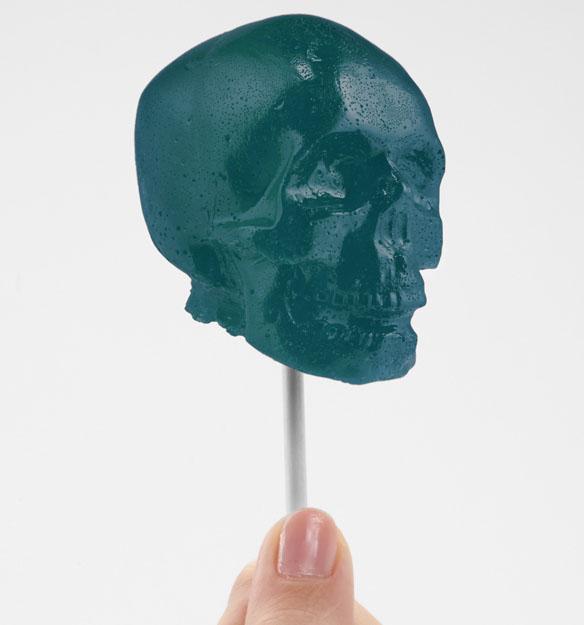 Gummy Skull On A Stick