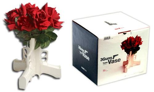 Gun Flower Vase
