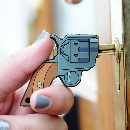 Gun Shaped Key Covers