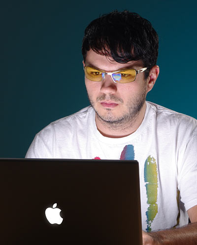 Gunnar Eyestrain Blue Light Reducing Glasses for Computer Users