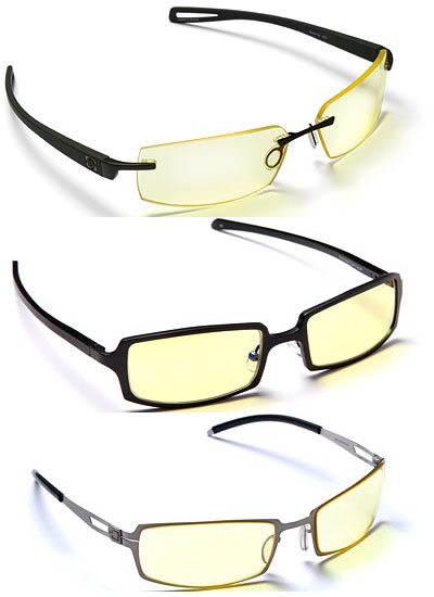 Gunnar Eyestrain Reducing Computer Glasses