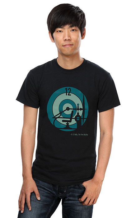 H G Wells Time Machine T-Shirt