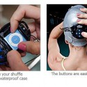 H2O Waterproof iPod Shuffle Swim Case and Headphones