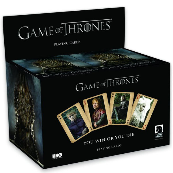 HBO's Game of Thrones Playing Cards