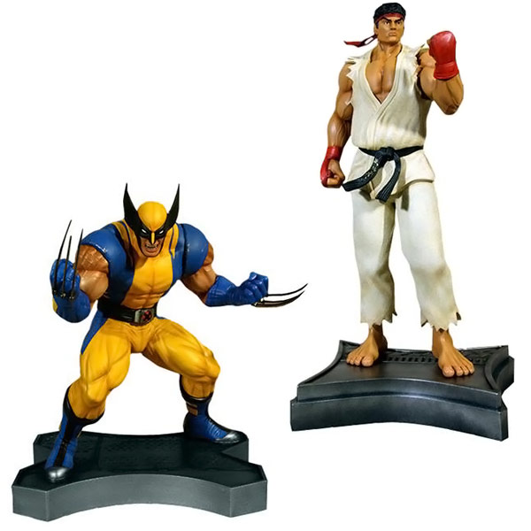 HCG Hollywood Collectibles Marvel vs Capcom 3 Wolverine vs Ryu