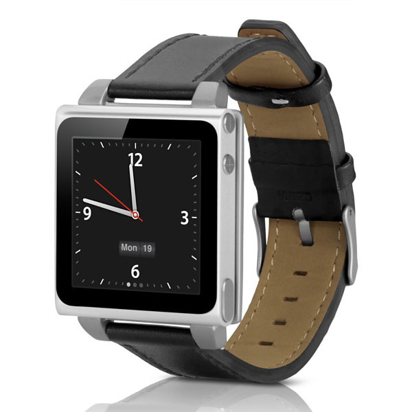 HEX Vision Classic Leather Watchband for iPod Nano
