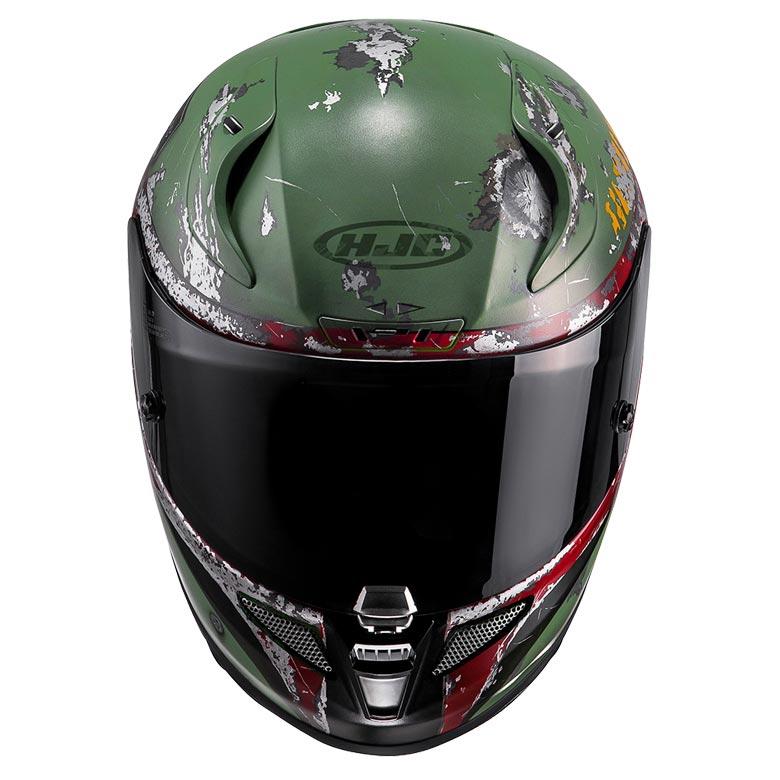 Hjc Rpha 11 >> Boba Fett Motorcycle Helmet