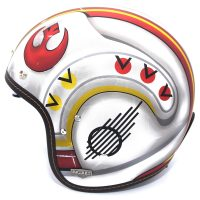 HJC IS 5 X-Wing Fighter Pilot Motorcycle Helmet