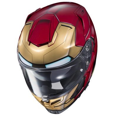 HJC Iron Man Motorcycle Helmet