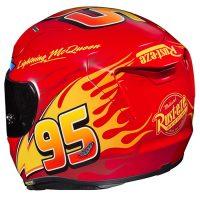 HJC Lightning McQueen Motorcycle Helmet