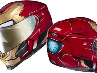 HJC Marvel Iron Man Motorcycle Helmet