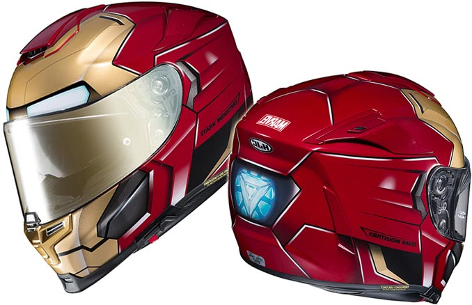 iron man motorcycle helmet. Black Bedroom Furniture Sets. Home Design Ideas