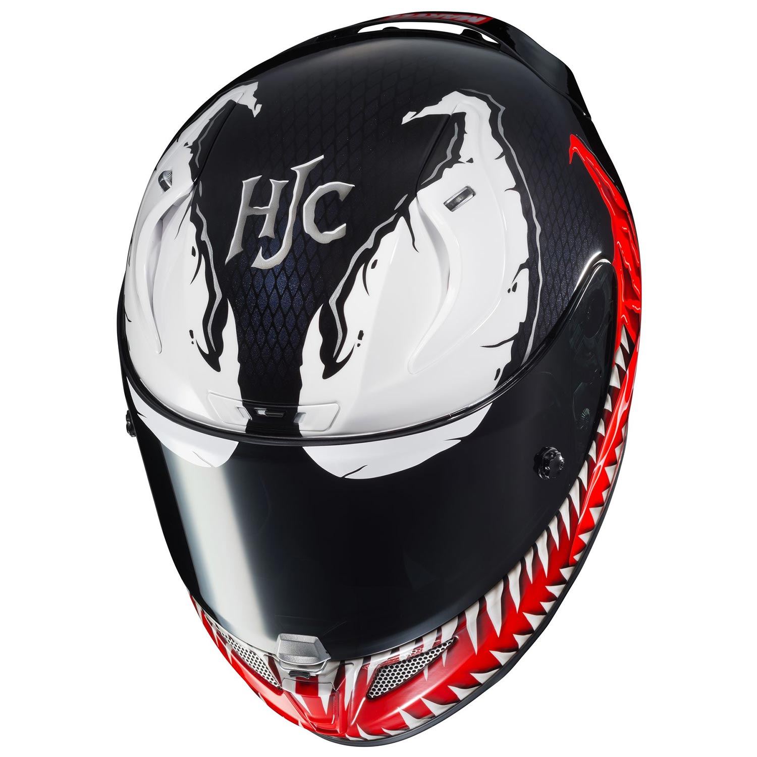 venom motorcycle helmet geekalerts. Black Bedroom Furniture Sets. Home Design Ideas
