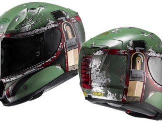 HJC RPHA 11 Pro Star Wars Boba Fett Motorcycle Helmet