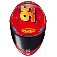HJC RPHA11 Pro Lightning McQueen Motorcycle Helmet