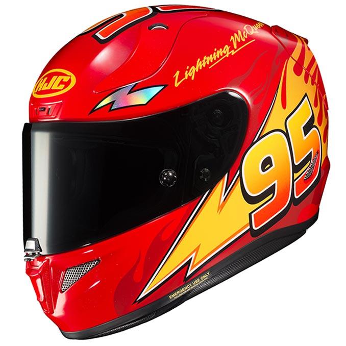 HJC RPHA11Pro Lightning McQueen Motorcycle Helmet