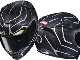 Marvel Black Panther Motorcycle Helmet