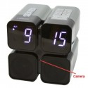 HMDX Quad Alarm Clock Radio SD Card Hidden Camera