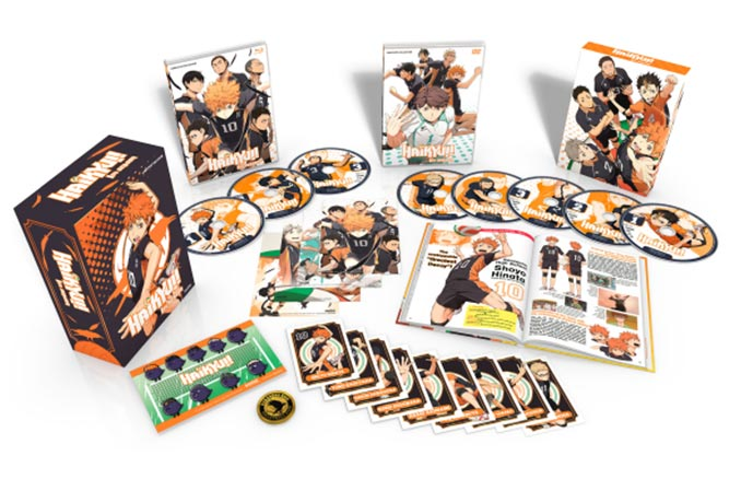 Haikyu!! Season 2 Premium Collection Blu-ray