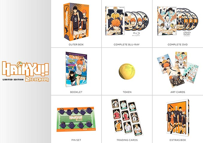 Haikyu!! Season 2 Premium Collection