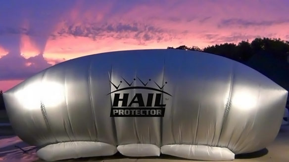 Hail Protector Car Cover Geekalerts
