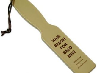 Hairbrush for Bald Men