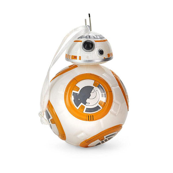 Hallmark Blown Glass Figural Star Wars BB-8 Ornament