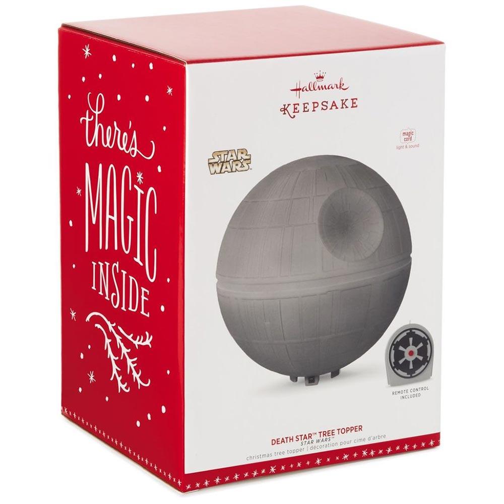 Star Wars Christmas Tree Lights: Death Star Christmas Tree Topper