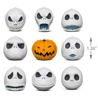 Hallmark Nightmare Before Christmas Jack Skellington Porcelain Ornaments