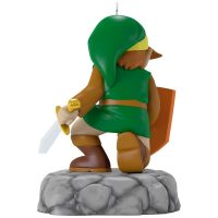 Hallmark The Legend of Zelda Link Ornament Back