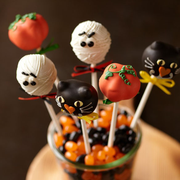 Halloween Cake Pops Halloween Cake Pops