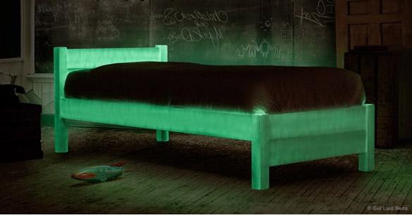 Halloween Limited Edition Glow-in-the-Dark Bed