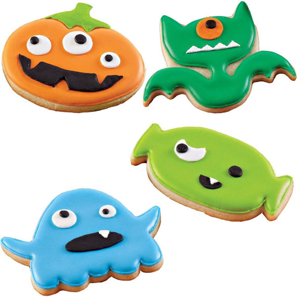 Halloween Monster Cookie Cutters