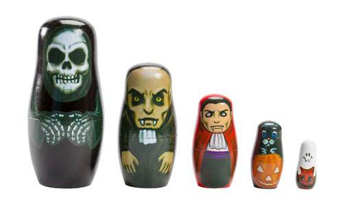 Halloween Nesting Dolls