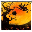 Halloween Scene Shower Curtain
