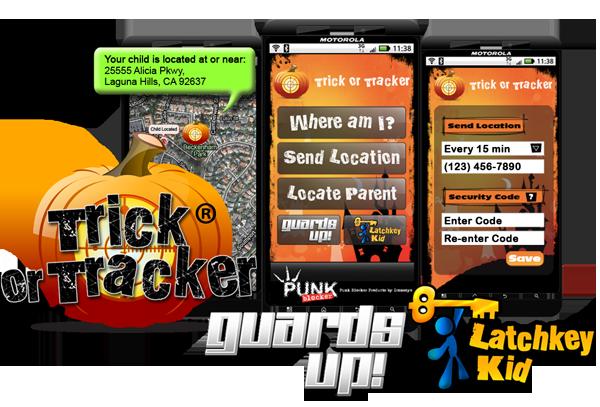 Halloween Smartphone App Trick or Tracker 2.0