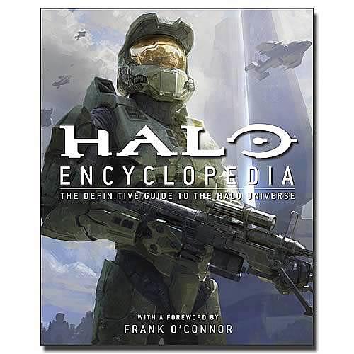 halo encyclopedia hardcover book