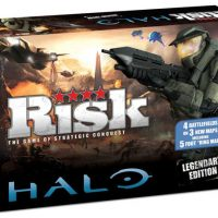 Halo Legendary Edition Risk Board Game