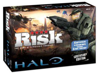 Halo Legendary Edition Risk Board Game