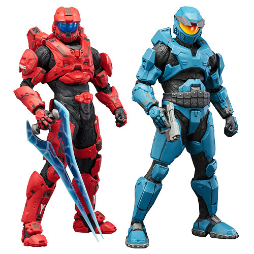 Halo Mjolnir Mark V and Mark VI Deluxe ArtFX+ Statue 2-Pack