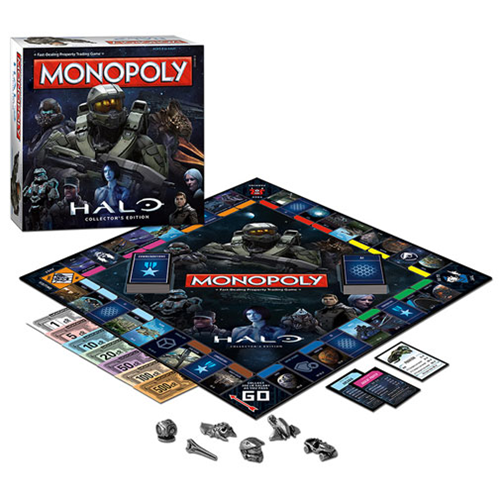 Halo Monopoly Game