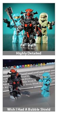 Halo Reach Minimates Series 2 Box Set Art Asylum Design